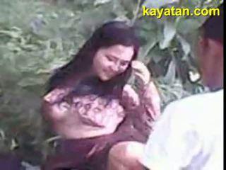 Pinay probinsyana sa saattaa bundok nag seksi