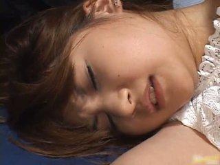 Άγριο πόρνη asumi mizuno gets πατήσαμε
