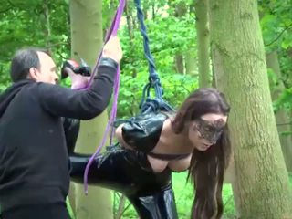 Slutty slave tied and bend over for ass discipline and bdsm fuck devotion <span class=duration>- 7 min</span>