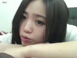 Comel gadis warga korea hàng dã¡âºâ¹p