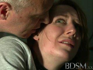 ボンデージ、支配、サディズム、マゾヒズム: 若い ティーン tortured バイ マスター 白