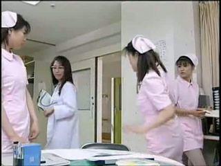 infermieret, uniformë, aziatik