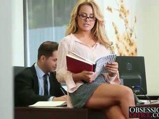 escritório, secretários