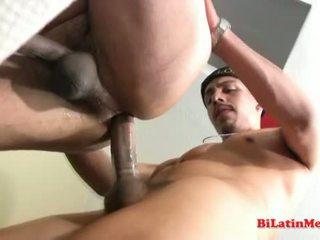 Hot latino guy fucks gangsta in the ass.