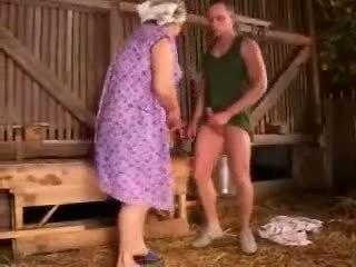 脂肪 丰满的 奶奶 性交