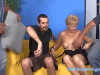 Hottie Wives Hungry on Three Cocks, Free Porn 1d