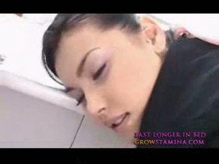Maria ozawa nxehtë aziatike stewardes qirje nga prapa 2