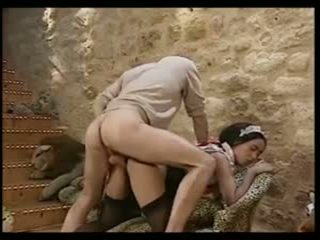 fun group sex action, more french clip, vintage scene