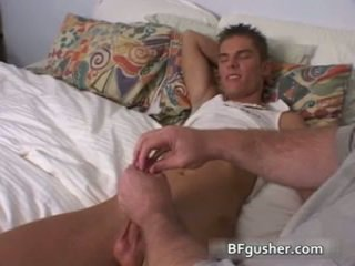 Brandon acquires lui sexy homosexual penis jerked