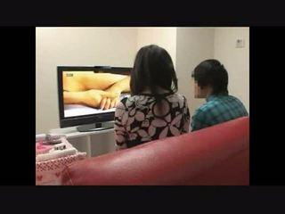 Mor och son att titta porr tillsammans experiment 4