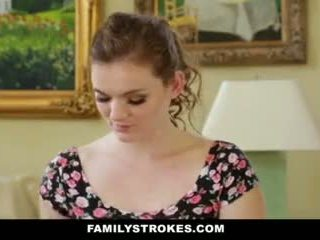 Familystrokes- step-sis obsessed সঙ্গে পুরোনো ভাই