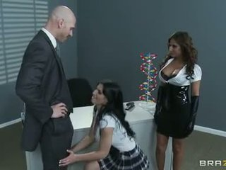 Rampant Madison Ivy & Rebecca Linares Tease This Dick