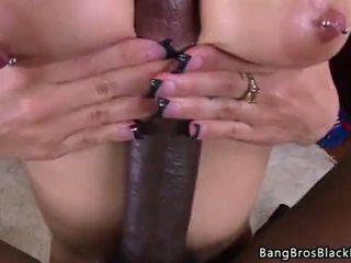brunette, neuken, grote lul
